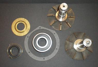 Wasserpumpenreparaturkit mit Gleitringpackung - Impellerrad nur im AT